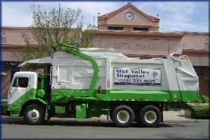Mid Valley Disposal Truck